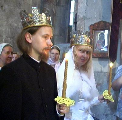 Венчание Валерия и Ии Суторминых